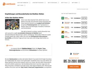 ruhpolding2012.com screenshot