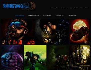 ruinedworld.com screenshot