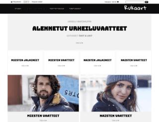 rukaart.fi screenshot