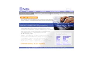 ruleboxsoftware.com screenshot