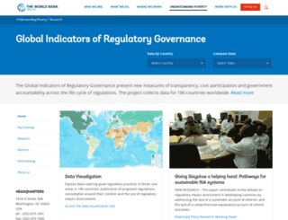 rulemaking.worldbank.org screenshot