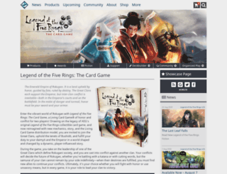 rules.l5r.com screenshot