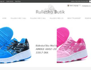rulleskobutik.com screenshot