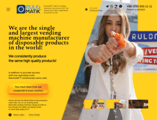 rulomatik.com.tr screenshot