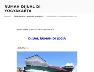 rumahdijualdiyogyakarta.com screenshot