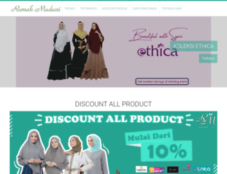 rumahmadani.com screenshot