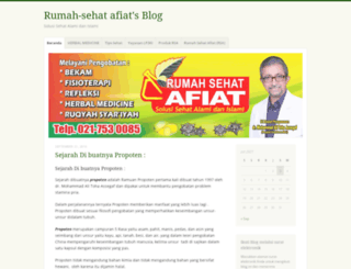 rumahsehatafiat.wordpress.com screenshot