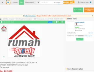 rumahspeedy.com screenshot