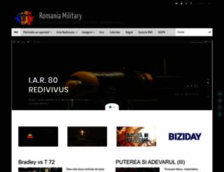 rumaniamilitary.ro screenshot