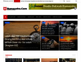 rumaysho.com screenshot