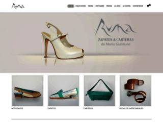 rumazapatos.com.ar screenshot