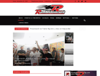 rumbasvenezuela.com screenshot