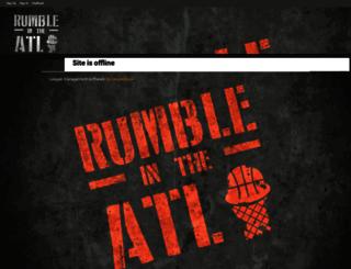 rumbleatl.leagueapps.com screenshot