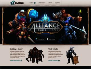 rumblegames.com screenshot