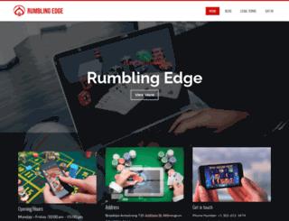 rumblingedge.com screenshot