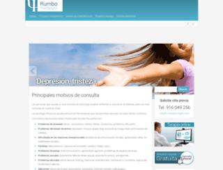 rumbopsicologos.com screenshot