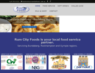 rumcityfoods.vermilionink.com.au screenshot