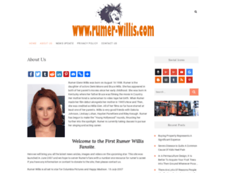 rumer-willis.com screenshot