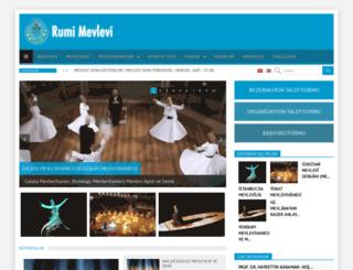 rumimevlevi.com screenshot