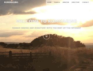 rummaging.co.uk screenshot