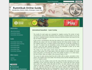 rummikub.org screenshot