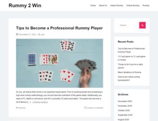 rummy2win.com screenshot