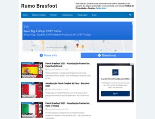 rumoaobrasfoot.blogspot.com.br screenshot
