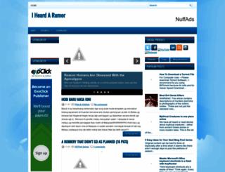 rumor-am.blogspot.fr screenshot