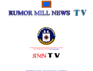rumormillnews.tv screenshot