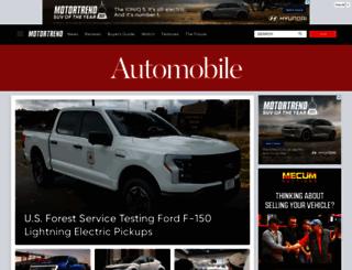 rumors.automobilemag.com screenshot