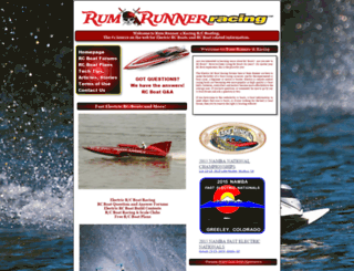 rumrunnerracing.com screenshot
