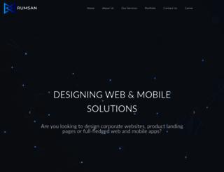 rumsan.com screenshot