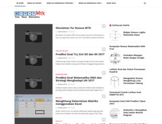 rumus-mtk.blogspot.com screenshot