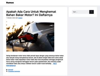 rumus.web.id screenshot