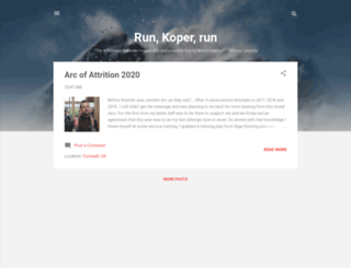 run-koper-run.blogspot.com screenshot