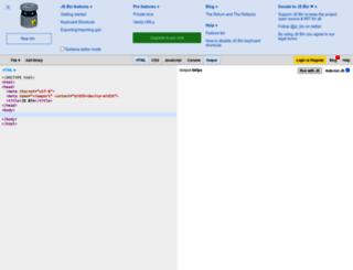 run.jsbin.com screenshot