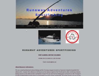 runawayadventuressportfishing.ca screenshot