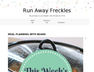 runawayfreckles.com screenshot