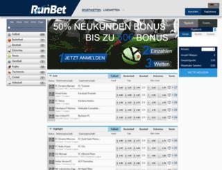 runbet.com screenshot