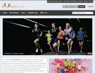 runboots.com screenshot