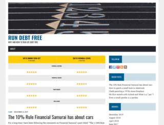 rundebtfree.com screenshot