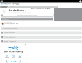 rundle-fine-art-hamilton.hamiltondirect.info screenshot