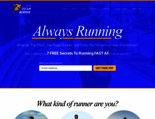 rundreamachieve.com screenshot