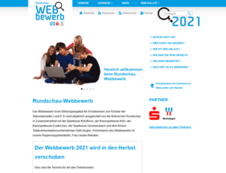 rundschau-webbewerb.de screenshot