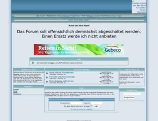 rundumdenhund.kostenloses-forum.be screenshot