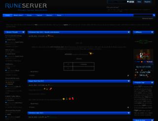 rune-server.org screenshot