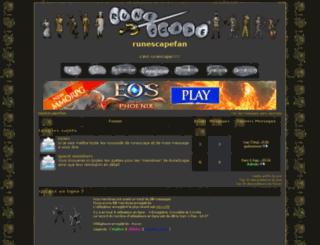 runescapefan.frbb.net screenshot