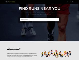 runguides.com screenshot