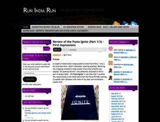 runindiarun.com screenshot