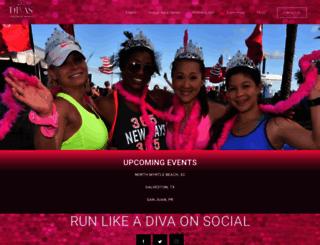 runlikeadiva.com screenshot